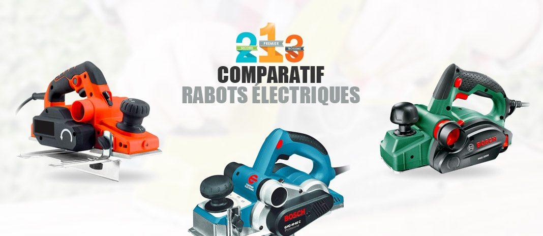meilleur rabot electrique
