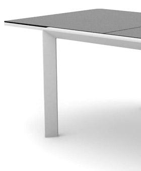 table aluminium
