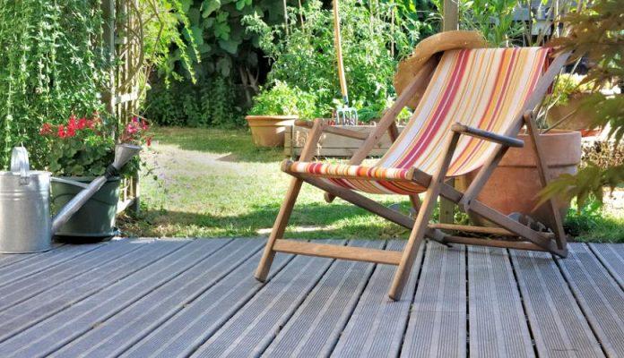 terrasse bois verdit