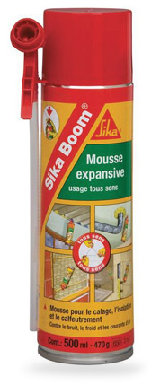 bombe mousse expansive